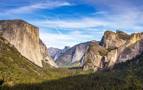 El Capitan Watches Over the Valleys of Yosemite