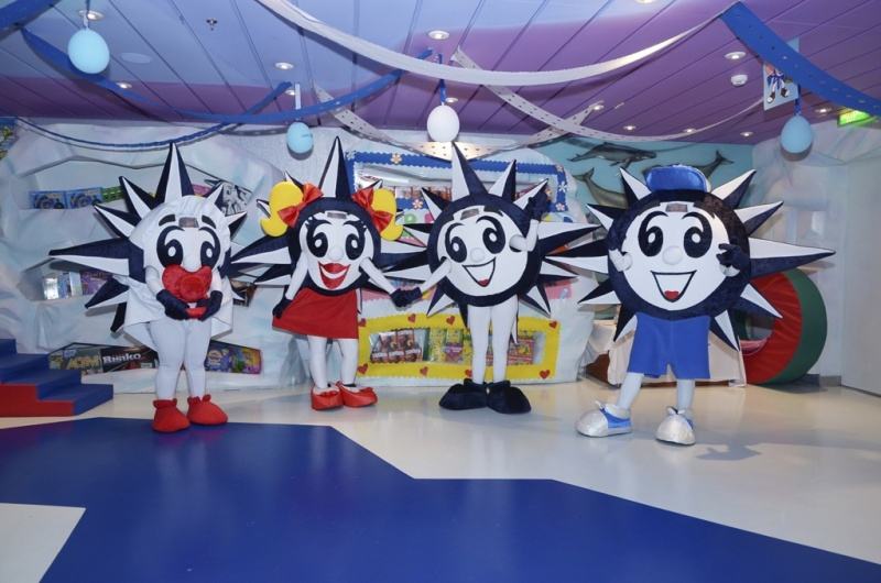 A new mascot will join the DOREMI family on MSC Seaview