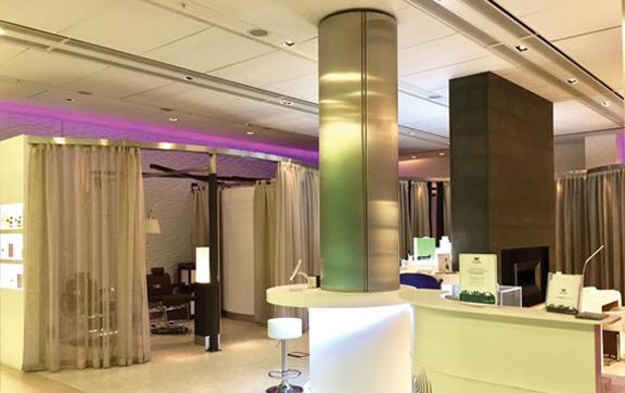 ELEMIS spa, BA arrival lounge