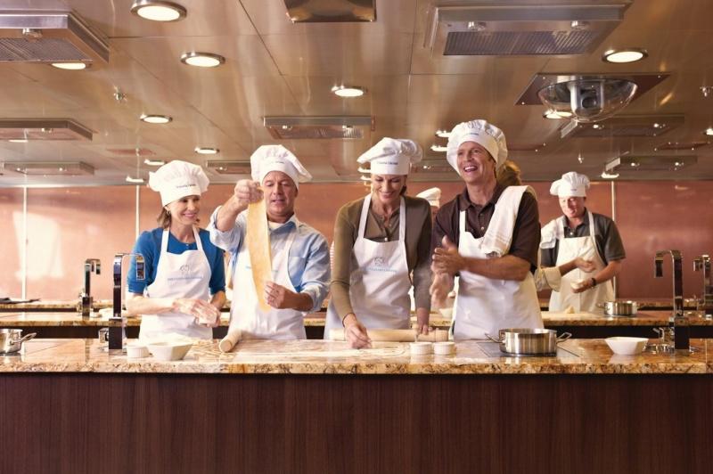 Culinary Center Class |  Photo Credit Oceania Cruises