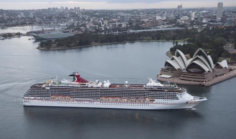 Carnival Spirit in Australia