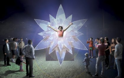 'The Bloom' artist impression by Mandylights Source: vividsydney.com