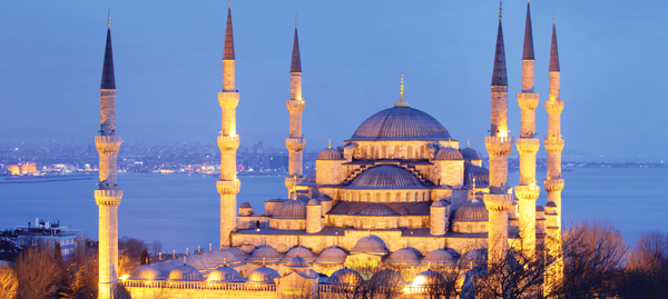 The Blue Mosque in Istanbul - Visit it on the Treasure of Turkey Tour