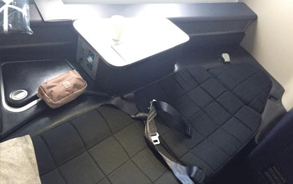 BA First Class Bed