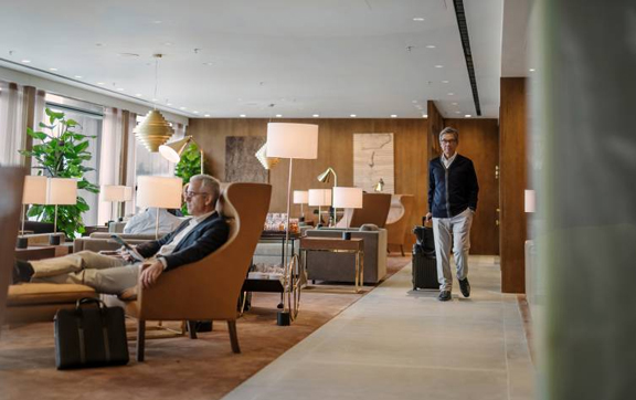 Cathay Pacific Airport Lounge