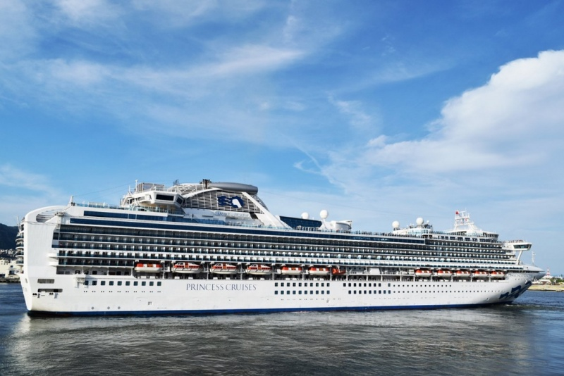 The Diamond Princess will be one of nine ships to offer all the World Cup matches.