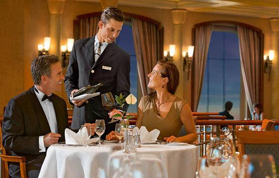 Michelin Star Dining Onboard
