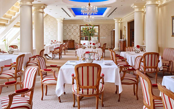 Le Ciel - One of Vienna's best gourmet restaurants