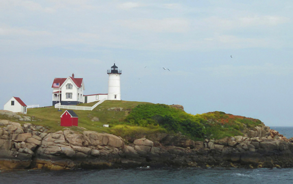 Nubble Lighthouse in Wells, Maine