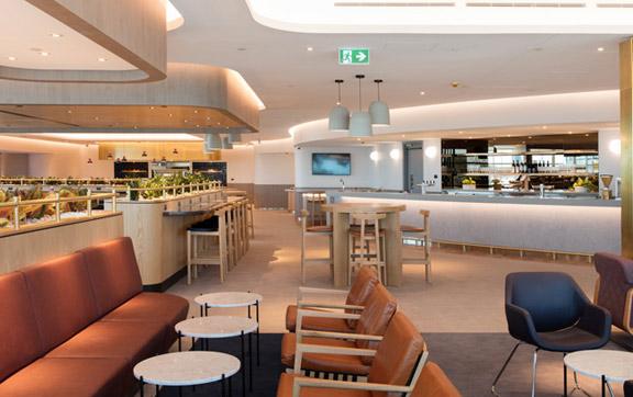 Qantas Business Lounge Brisbane