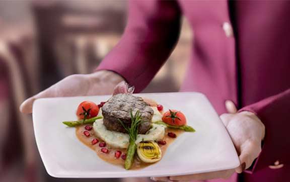 Qatar Airways Pre Select Dining