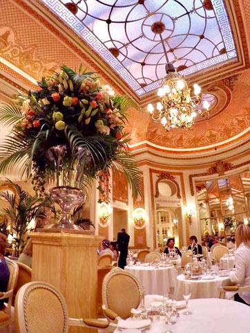 High Tea, The Ritz Hotel