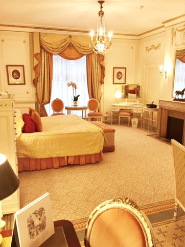 Bedroom, The Ritz Hotel