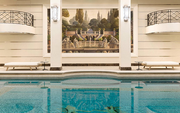 Indoor Pool - Ritz Paris