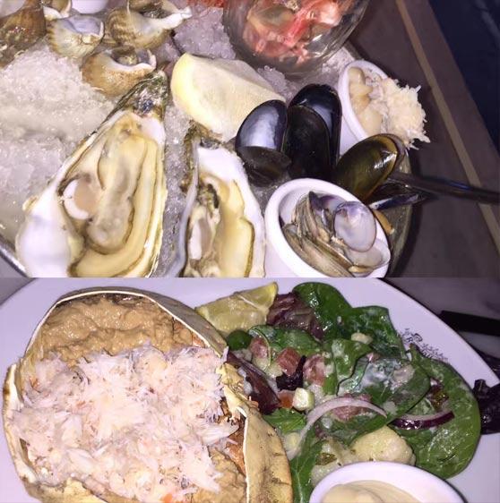 Seafood at Randall Aubin