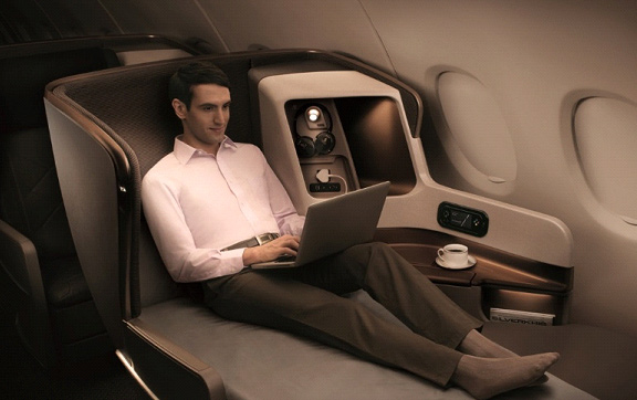 singapore airlines A350 seating