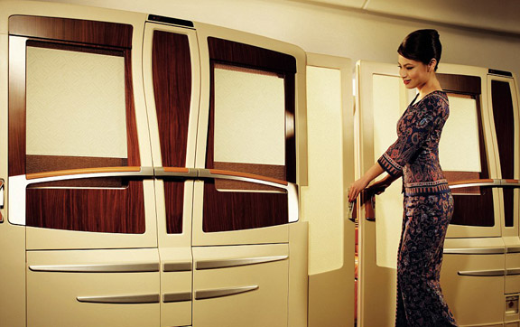 Singapore Airlines First Class Service
