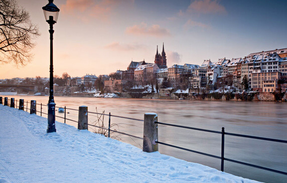 Basel in the Winter