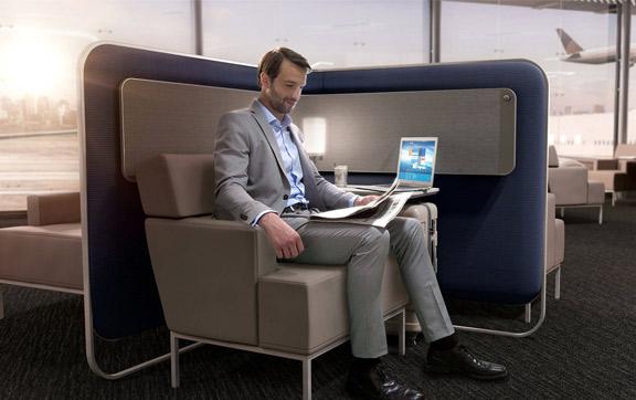 United Polaris Lounge Space