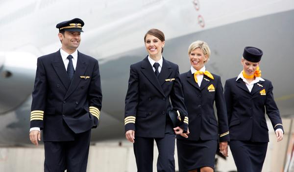 The Lufthansa Crew Provide Award Winning Service